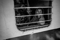 Train Window at Agra (jarekl_foto) Tags: india train streetphotography agra bmw gr3