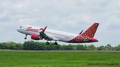 Batik Air A320 (michaeladi71) Tags: airbus airbus320 airbusa320 a320 a320214 a320200 a320sharklet batikair lionairgroup pklav