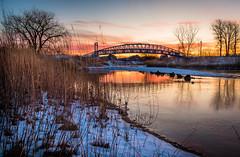 Warm Sky on a Cold Morning (Neil Cornwall) Tags: 2020 blueheronpark canada january ontario windsor sunrise winter