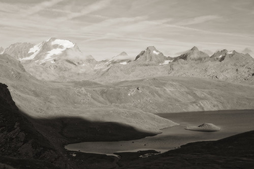 Best viewed large. Nivolet lake scene