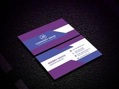 Purple Business Card (PixelonLalin) Tags: unique branding business businesscards businesscard brand creative card custom colorful graphic design modern illustrator illustration image stationery stationary