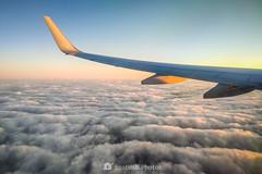 Cloudy ocean (SantiMB.Photos) Tags: 2blog 2tumblr 2ig xiaomi mi9t phone móvil avión plane ala wing volando flying nubes clouds georgia estadosunidos