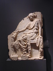 Maenad and goat (dimitar.illiev) Tags: maenad goat ancient roman sculpture relief greek mythology religion