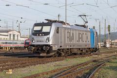 Railpool 187 003 Basel Bad (daveymills37886) Tags: railpool 187 003 basel bad baureihe bombardier traxx ac3
