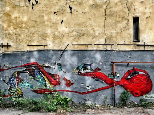 Psychodelic graffiti. St. Petersburg style_ ©  Sergei F