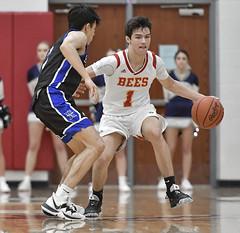 DSC_8011 (K.M. Klemencic) Tags: hudson high school boys basketball explorers brecksville bees ohio ohsaa suburban league