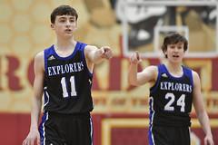 DSC_7796 (K.M. Klemencic) Tags: hudson high school boys basketball explorers brecksville bees ohio ohsaa suburban league