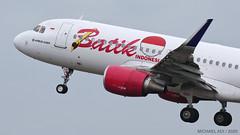 Batik Air A320 (michaeladi71) Tags: airbus airbus320 airbusa320 a320 a320214 a320214wl batikair lionairgroup wipp plm a320sharklet pklau