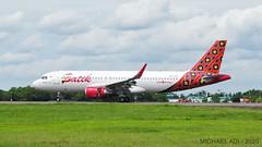 Batik Air A320 (michaeladi71) Tags: airbus airbusa320 airbus320 airbus320214 a320214 a320sharklet batikair lionairgroup pklzg
