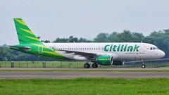 Citilink A320 (michaeladi71) Tags: airbus airbus320 airbusa320 a320 a320200 a320214 citilink citilinkindonesia garudaindonesiagroup supergreen pkglk