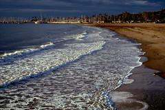 2020-01-25, 03h49m37s, film, harbor, Kodak Ektachrome 100, morning, Santa Barbara, scan, Stearn's Wharf (markalanthomas) Tags: kodakektachrome100 santabarbara stearnswharf film harbor morning scan