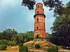 Firoz Minar !! (Lopamudra !) Tags: lopamudra lopamudrabarman lopa landscape india gour gaur malda tower islamic ancient old bengal ruralbengal structure minaret tree trees history historical archaeological architecture artistic beauty beautiful westbengal