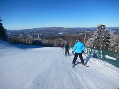 Sweet Solitude (Joe Shlabotnik) Tags: 2020 snow skiing vermont january2020 winter violet everett proudparents okemo sue 60225mm