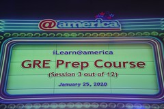 GRE Prep Course (Session 3 of 12) (@america) Tags: gre prep course session 3 12