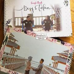Guest Book Desy & Tofan Tanya-tanya, atau info lebih lanjut hubungi : ☎ WA : 08561410064 Line : nikahgeh Desain bisa cek di 👉 http://bit.ly/2rnZvXk #nikahgeh #weddingserang #undanganserang #infoserang #undanganminimalis #guestbook #bukutamu #t (NikahGeh) Tags: instagram nikahgeh invitation