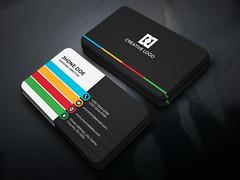 Colorful-Business-Card (PixelonLalin) Tags: colorful business businesscards businesscard card creative unique custom graphic design modern branding brand stationery illustrator stationary illustration