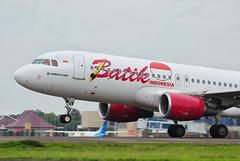 Batik Air A320 (michaeladi71) Tags: airbus airbus320 airbusa320 airbus320sharklet a320 a320sharklet a320214 batikair lionairgroup plm wipp pkluv