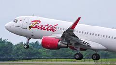 Batik Air A320 (michaeladi71) Tags: airbus airbus320 airbusa320 airbusa320200 airbusa320214 a320 a320214 a320sharklet batikair lionairgroup pklzh