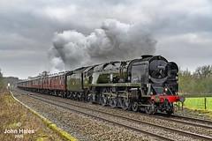 On a Day Like This, It Was Never Going to be Pretty! (John_Hales) Tags: rail railway train trains locomotive steam yorkshire preston networkrail lancashire loco northernrail britishrail a1 lostockhall wcml