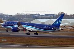 AZAL Azerbaijan Airlines VP-BBR Boeing 787-8 Dreamliner cn/37920-211 @ LTBA / IST 25-11-2018 (Nabil Molinari Photography) Tags: azal azerbaijan airlines vpbbr boeing 7878 dreamliner cn37920211 ltba ist 25112018