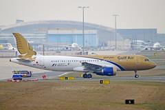 Gulf Air A9C-AN Airbus A320-214 cn/4865 @ EDDF / FRA 02-04-2017 (Nabil Molinari Photography) Tags: gulf air a9can airbus a320214 cn4865 eddf fra 02042017