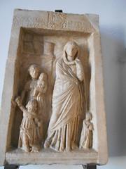 Funerary stele of Lysandra (dimitar.illiev) Tags: funerary stele greek inscription ancient lysandra asia minor smyrna art roman monument