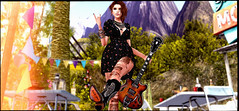 New me .. (Sheila breen) Tags: tresblah blog nature rock sheilabreen n21 dress guitar