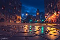 Night Visions (Fredrik Lindedal) Tags: gothenburg göteborg glow nikon night nightshot nightlights nightphoto streetview street streetvision streetlight sweden sverige sky nightfall nightsky well