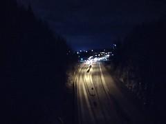 Keravantie (pikkuanna) Tags: kerava keinukallio 2020 tie road pimeä dark ilta night
