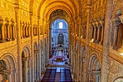Sé de Lisboa (Croydon Clicker) Tags: cathedral church medieval building architecture chancel alter arches lights lisbon portugal nikon sigma