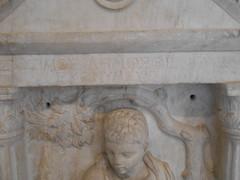 Funerary stele of Zosimus - inscription (dimitar.illiev) Tags: ancient greek roman zosimus inscription stele funerary monument zosimos