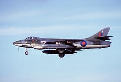 Photo of Hawker Hunter FGA.9 XG291 Y 234 Sqn 27-10-82
