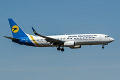 UR-UIC (PlanePixNase) Tags: frankfurt fra eddf airport aircraft planespotting boeing 737 737800 b738 ukraineinternational