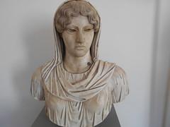 Head of Aphrodite Sosandra (replica) (dimitar.illiev) Tags: aphrodite sosandra greek roman sculpture bust replica ancient art head