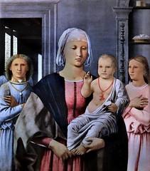 IMG_8734K Piero della Francesca 1416-1492 Borgo San Sepolcro  Madonna di Senigallia  Urbino Galleria Nazionale delle Marche (jean louis mazieres) Tags: peintres peintures painting musée museum museo italia urbino gallerianazionaledellemarche