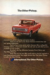 1973 International Harvester Pickup Truck Page 2 USA Original Magazine Advertisement (Darren Marlow) Tags: 1 3 7 9 19 73 1973 i international h harverster p pick u up t truck c car cool collectible collectors classic a automobile v vehicle us usa united s states american america 70s