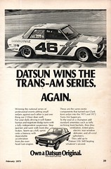 1973 Datsun 510 Nissan USA Original Magazine Advertisement (Darren Marlow) Tags: 1 3 5 7 9 19 73 1973 d datsun 510 n nissan c car cool collectible collectors classic a automobile v vehicle j jap japan japanese asian asia 70s