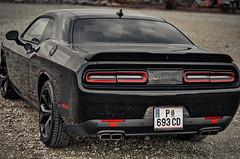 13 (cadet_maca) Tags: dodge challenger modern muscle car austrian texan horse power customized wrapped dark black imported stefanmaca phantom