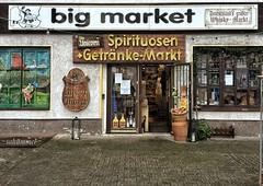 The Unicorn (Sockenhummel) Tags: whisky einhorn laden shop display geschäft market bigmarket schaufenster berlin britz spirituosen getränkemarkt unicorn theunicorn