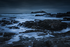 Let It Go (Brian + H & H) Tags: cornwall godrevylighthouse bluehour wicommittee mrstrebillcock mrsrosewarne mrsbolitha philcollins intheairtonight bottycoughing competition