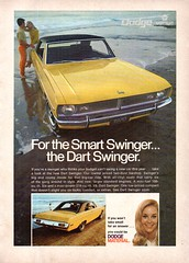 1970 Dodge Dart Swinger Hardtop Chrysler USA Original Magazine Advertisement (Darren Marlow) Tags: 1 7 9 19 70 1970 d dodge dart s swinger h hardtop c car chrysler cool collectible collectors classic a automobile v vehicle m mopar u us usa united states american america 70s