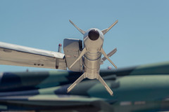 SideWinder (Miguel Ángel Prieto Ciudad) Tags: airplane air vehicle military war fighter plane sky technology outdoors transportation missile force weapon jetty close up perspective spanishairforce sonyalpha alpha3000 airshow no people aerospace industry