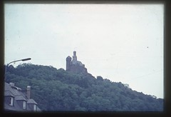 . (Kaïopai°) Tags: vintage 1960er 1960s rhein rhin rhine burg castle burgruine ruine ausblick view mittelrhein marksburg