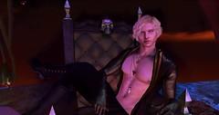 Dark Prince (Alex-Trill) Tags: fantasy second life roleplay blond demon dark secondlife