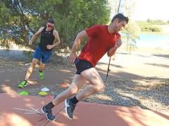 My favourite from today's Parkrun (AdamsWife) Tags: westernaustralia championlakesparkrun running runners two 2 sport 5k