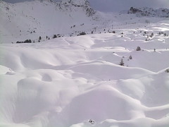 waved (Andreas Fickl) Tags: snow wave waved ski alps alpes plagne mountain winter