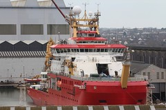 RRS SIr David Attenborough (Das Boot 160) Tags: rrssirdavidattenborough research polarreasearchvessel ships sea ship river rivermersey port docks docking dock drydocking cammelllairds lairds boats boat birkenhead maritime mersey merseyshipping