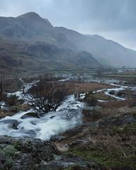(Neil Bryce) Tags: snowdonia wales nant ffrancon afon oqwen foel goch river waterfall falls flood water wet rain storm landscape olympus