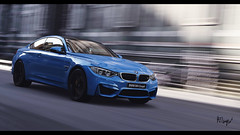M4 (at1503) Tags: blue car sportscar motion blur movement speed italy florence city urban germancar bmw m4 bmwm4 reflections gtsport granturismo granturismosport motorsport racing game gaming ps4
