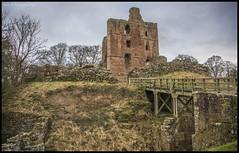 Norham Castle DSC_0037 (dark-dave) Tags: northumberland history castle ruins sandstone norham england landscape trees
